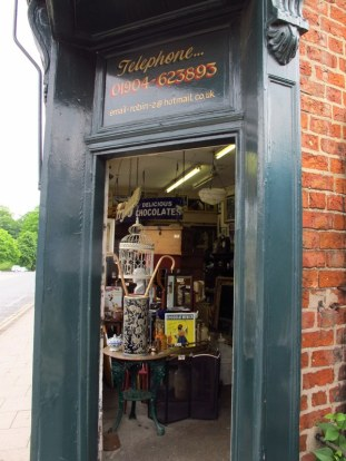 Second hand shop in my 'hood, York