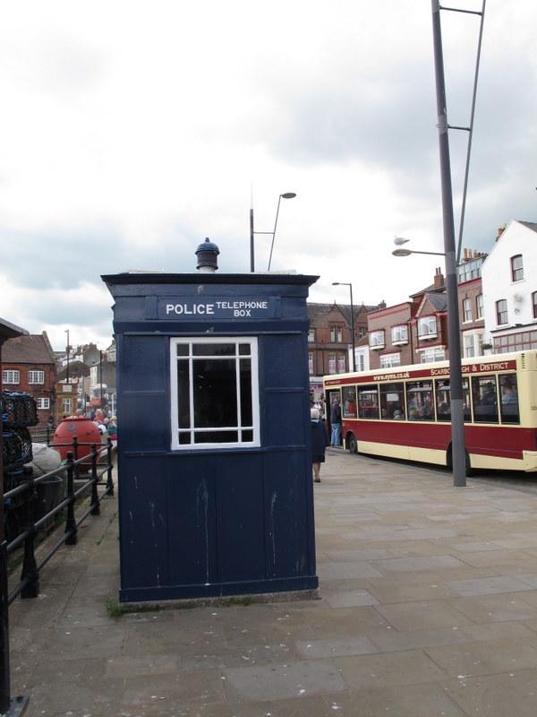 Police presence, Scarborough, England