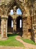 And not so creepy, Whitby Abbey