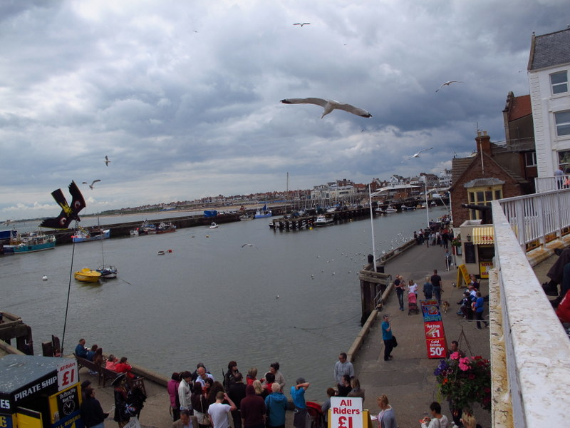 Bridlington Harbour, England