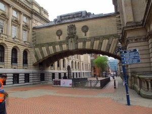 Birmingham's very own little version of the bridge of sighs