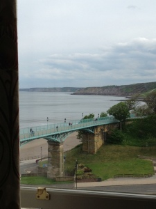 View from my room at the Mount Hotel Scarborough