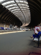York train station, I think
