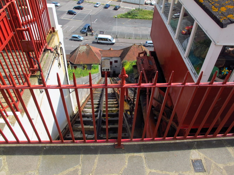 Funicular at Folkestone