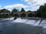The weir at Bathampton