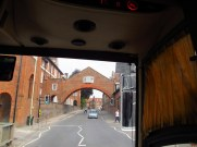 Entering Marlborough, England