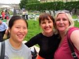 Nicole, Deb and I