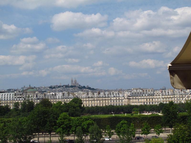 From Musee d'Orsay, looking towards Sacre Coeur, Paris