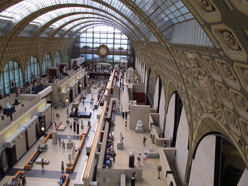 What a wonderful space - Musee d'Orsay, Paris