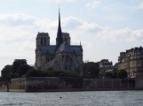 Notre Dame Paris from the river