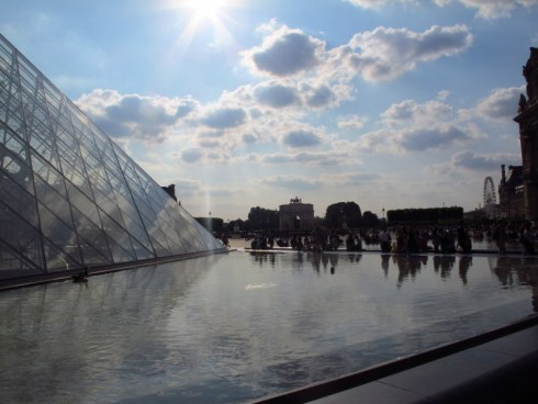 Late afternoon at the Louvre