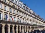 along rue de rivoli