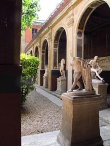 courtyard of ecole des beaux arts building paris