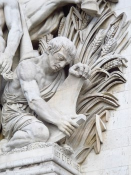 Detail, Arc de Triomphe