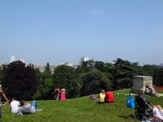 Parc des Butte Chaumant Paris