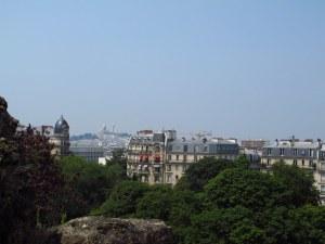 Paris from Parc des Butte Chaumant