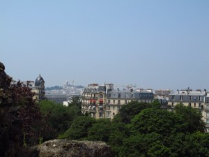 Paris from Parc des Butte Chaumant