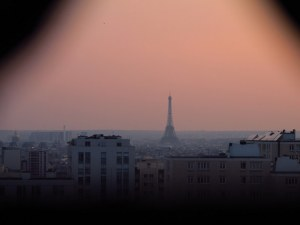 Eiffel Tower from apartment