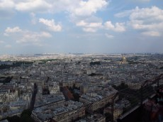from the eiffel tower paris