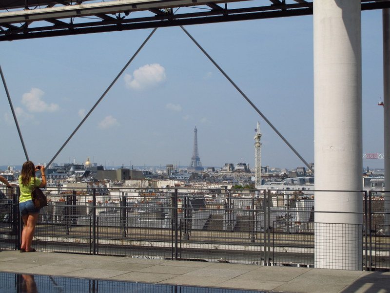 Paris from the Centre Pompidou