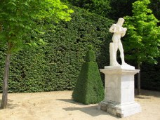 In the gardens of Palace of Versailles
