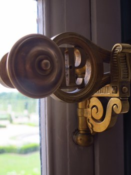 Window latch detail, Palace of Versailles