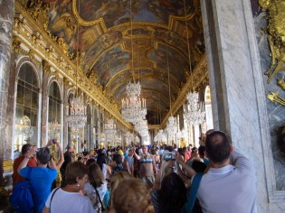 Too crowded to really appreciate, Palace of Versailles