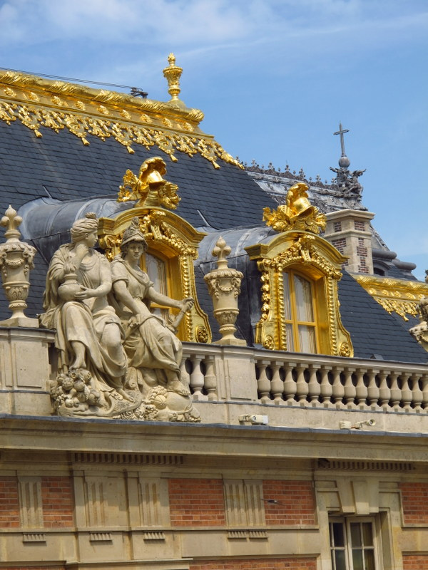 All this just for a roof, Palace of Versailles