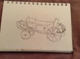 Children's carriage, Museum of Fine Arts, Arras