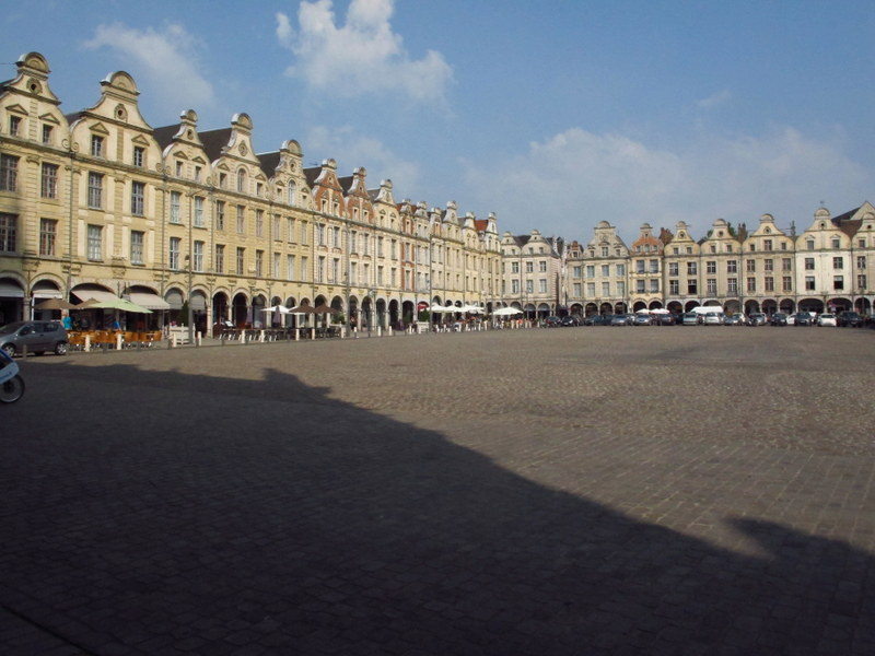 One of the square of Arras