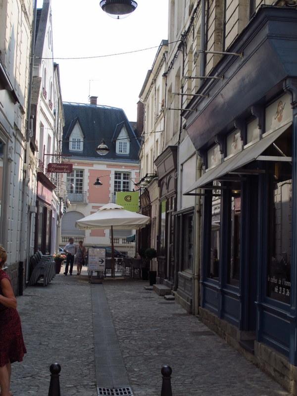 Quiet streets of Arras