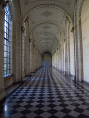 Corridor of Museum of Fine Arts, Arras, France