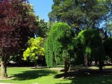 Gardens around Cathedral of Arras