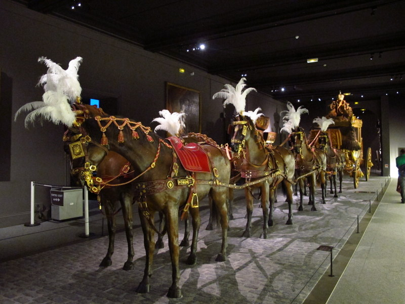 Coaches for Courts, Arras museum exhibition
