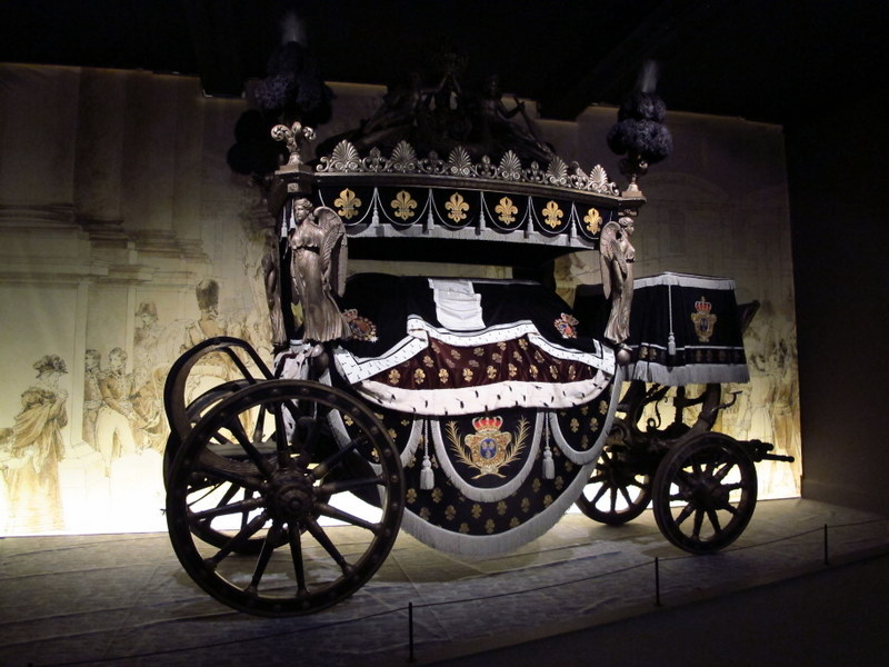 Funeral carriage, Arras Museum