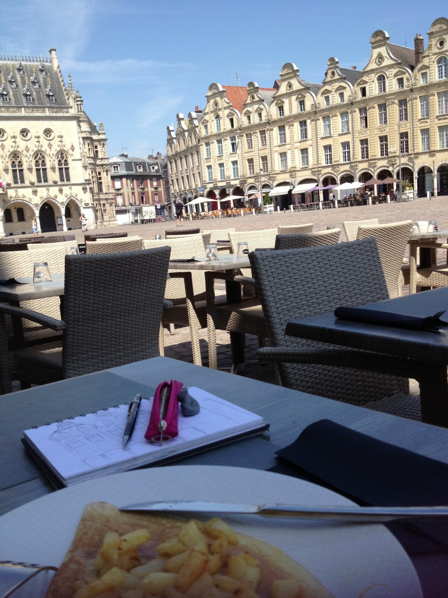 Place des Heros, Arras, France