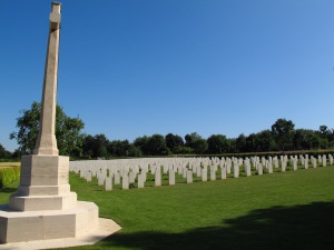 Adelaide Cemetery, Villers-Bretonneux, France