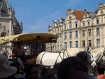 Hose & buggy ride in the square