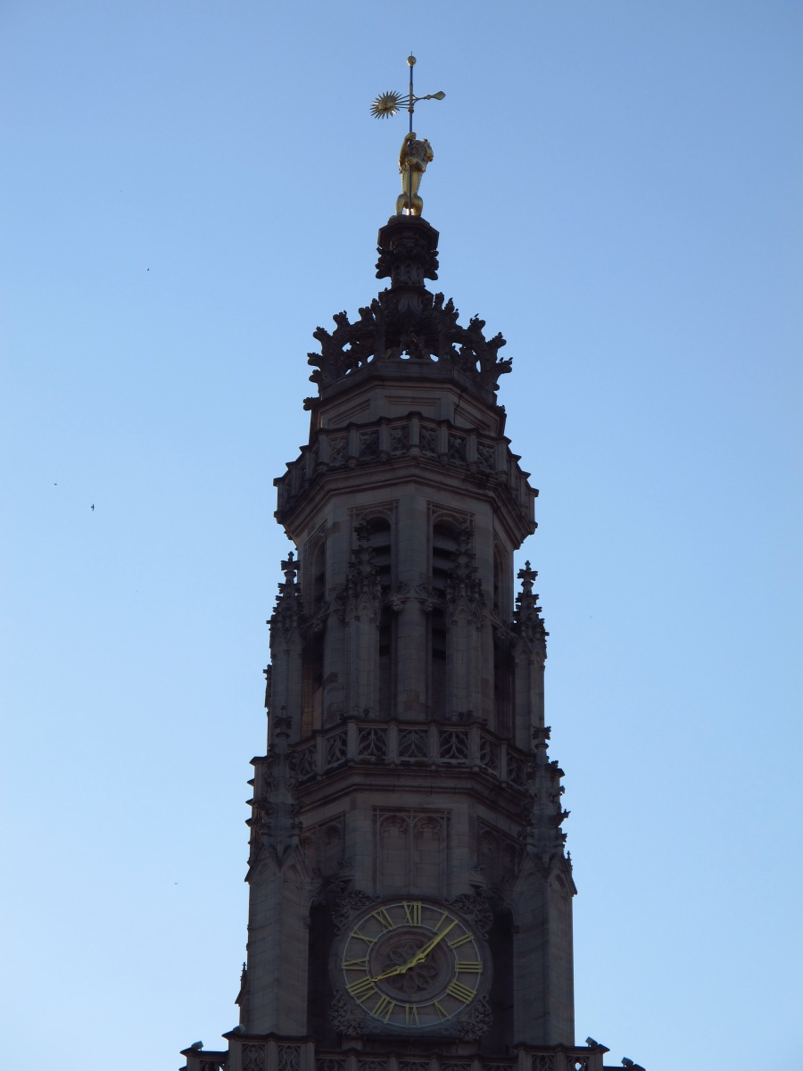 Tower of the Town Hall, Arras, France