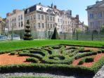 Gardens at Hotel de Ville, Boulougne sur Mer
