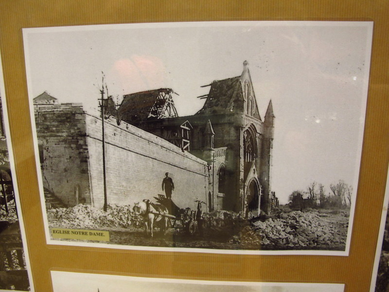 Image in WW2 Museum, Calais, France