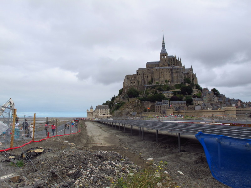 Construction, Mont St Michel