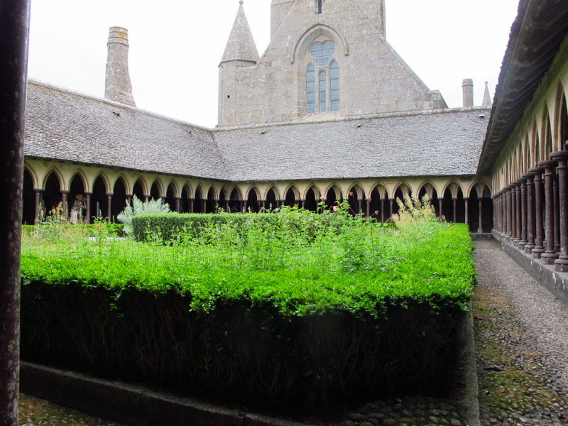 Cloisters of Mont St Michel