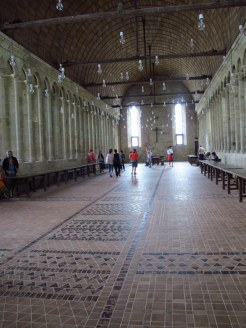 Refectory (I think), Mont St Michel