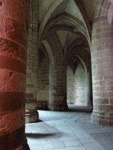 A quiet spot on Mont St Michel