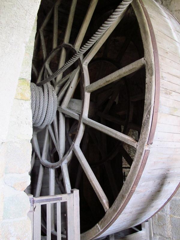 Tread wheel, Mont St Miche