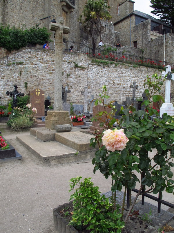 Cemetery on Mont St Michel