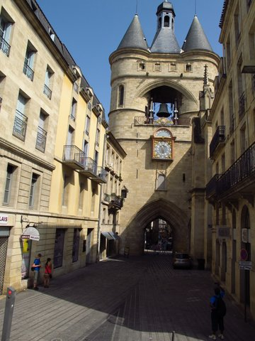 "Grosse Cloche, Bordeaux, France - ""Great Bell"""