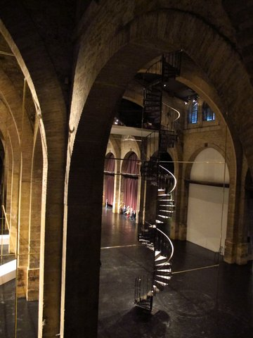 Inside the Museum of Contemporary Art, Bordeaux