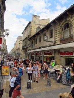 Markets in Bordeaux, France